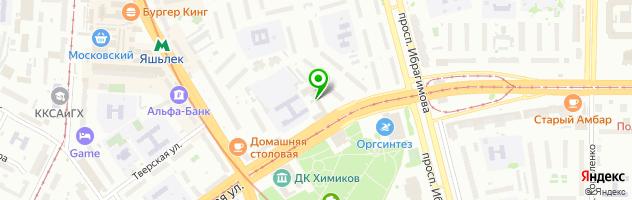 """Реабилитационный Центр """"Панацея"""" — схема проезда на карте"""