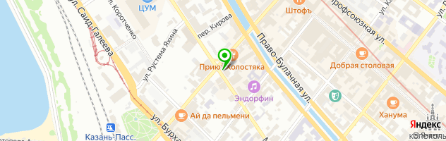 Luxdry — схема проезда на карте