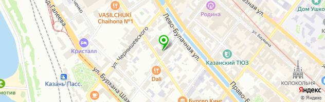 Эндорфин Шоу-бар Караоке — схема проезда на карте