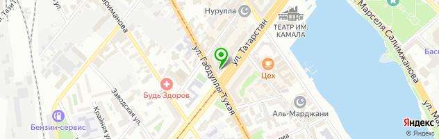 Ателье Батис — схема проезда на карте