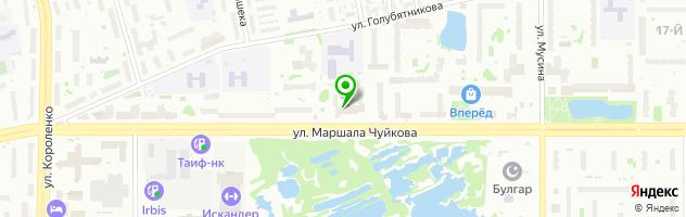 Медицинский центр Наша клиника — схема проезда на карте