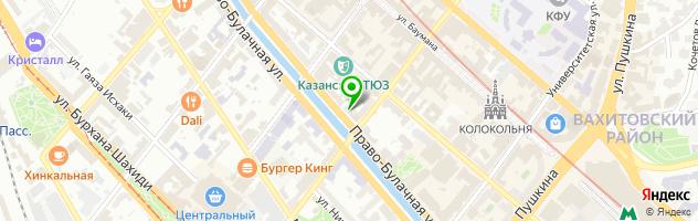 Ресторан ibis kitchen — схема проезда на карте