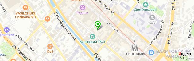Рекламно-полиграфическая компания АВС КОЛОР — схема проезда на карте
