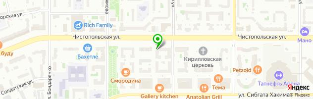 Мебельная компания Станнум — схема проезда на карте