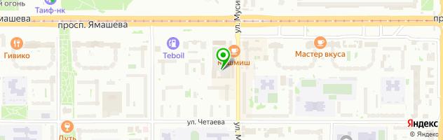 Магазин автотоваров — схема проезда на карте