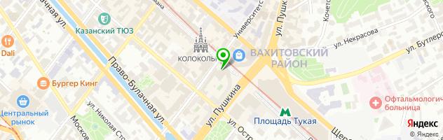 Кафе OmNomNom — схема проезда на карте