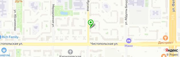 Магазин автоэлектроники AutoStar — схема проезда на карте
