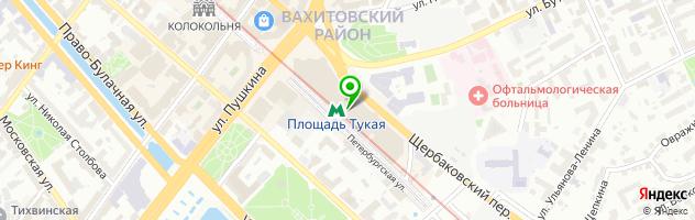 Ювелирная мастерская Zoloto116.ru — схема проезда на карте