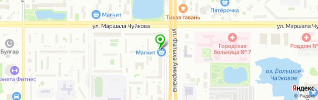 Торис-сервис — схема проезда на карте