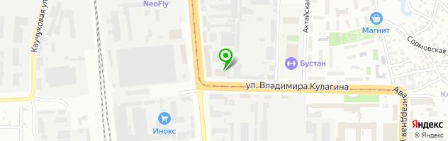 Центр подбора автоэмали Дизайн Цвета — схема проезда на карте