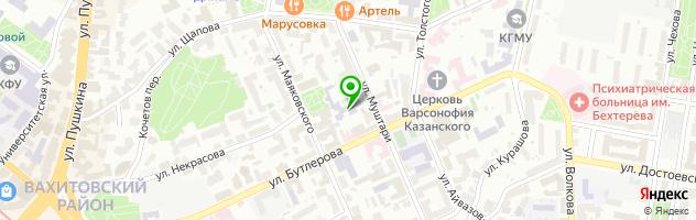 Городской центр образования — схема проезда на карте