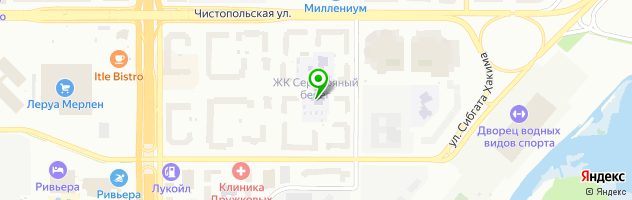 Детский сад №192 Семицветик — схема проезда на карте