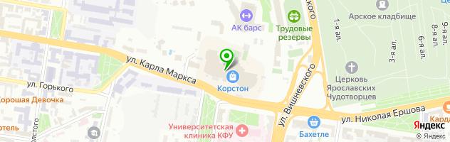 Автостудия Di. станция — схема проезда на карте