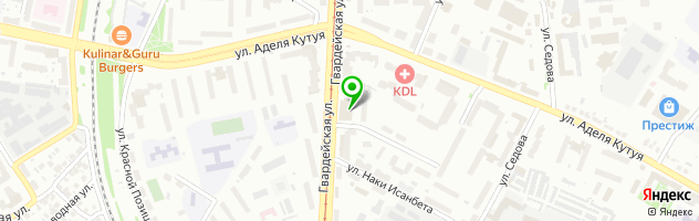 Автошкола АЛАН АВТО — схема проезда на карте