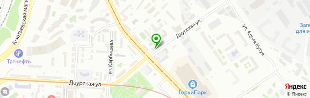 Кафе Ресторанчик Корона — схема проезда на карте