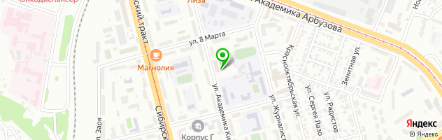 Казанское протезно-ортопедическое предприятие ФГУП — схема проезда на карте