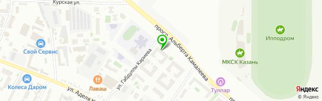 Медицинский центр красоты и здоровья Эстетик-Сити — схема проезда на карте