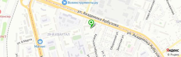 Автошкола Автоплюс — схема проезда на карте