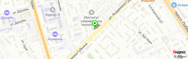 Торговая фирма Оптиксервис — схема проезда на карте