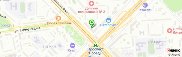 Кафе Шурпа — схема проезда на карте