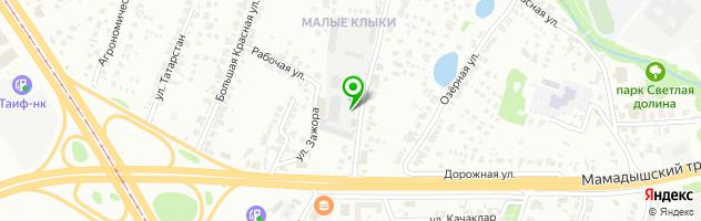 Торгово-сервисная компания АСКом — схема проезда на карте