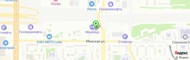 Фирма Орион-Казань — схема проезда на карте