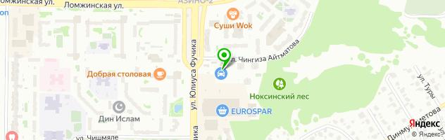 Компания по пассажирским перевозкам ТРАНСВИП — схема проезда на карте