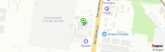 Установочный центр Автомобильное газовое оборудование — схема проезда на карте