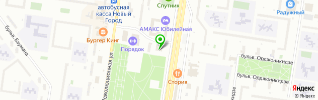 Ресторан-караоке Vesna — схема проезда на карте