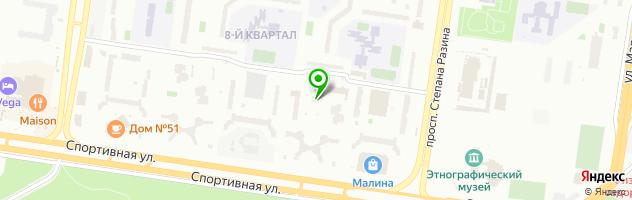 Кабинет здоровья Ortos-profi — схема проезда на карте