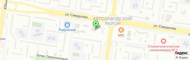 Компьютерная фирма КОПИР СЕРВИС — схема проезда на карте
