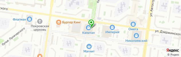 Торгово-сервисная компания А Цифраград сервис — схема проезда на карте