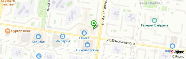 Ресторанно-гостиничный комплекс Поручикъ Голицынъ — схема проезда на карте