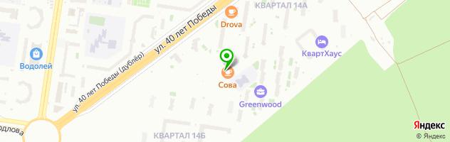 Медицинский центр Панацея — схема проезда на карте