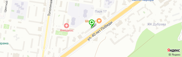 ВАЛЬХЕНМЕД клиника — схема проезда на карте