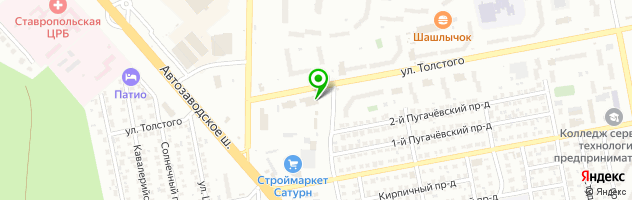 Автоцентр Инком Сервис — схема проезда на карте