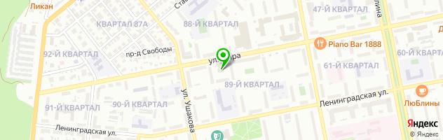 Ресторанно-гостиничный комплекс La Rotonda — схема проезда на карте