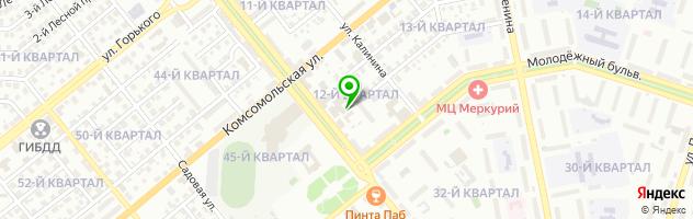 Типография ПолиХим — схема проезда на карте