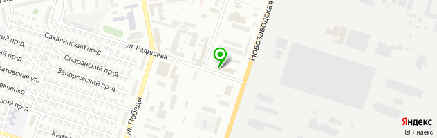 ШТУРМАН-АВТО63 — схема проезда на карте