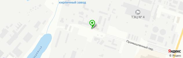 Автосервис ВездеходТрансСервис — схема проезда на карте
