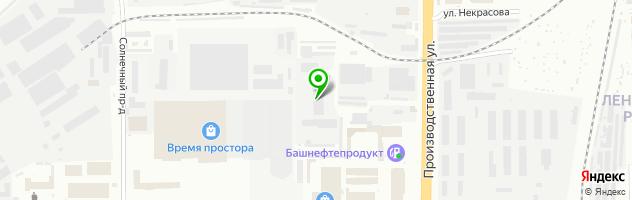 Кардан Киров — схема проезда на карте