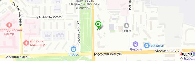 Центр инженерной печати Импульс — схема проезда на карте