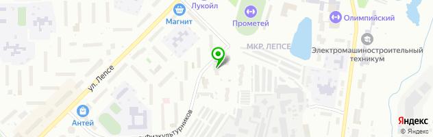 Автосервис Пан-Авто — схема проезда на карте