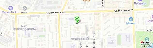 Студия OLGA ENGELFELD — схема проезда на карте