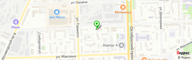 Медицинский центр Маяковский — схема проезда на карте