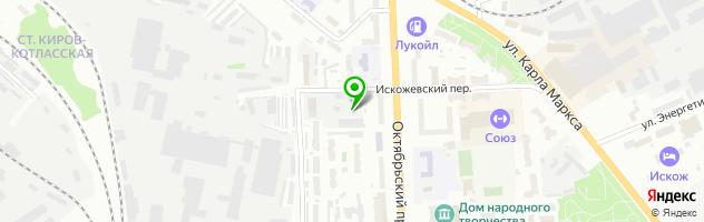 Автосервис Аркада Авто — схема проезда на карте