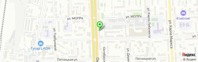 Стоматологический центр Вяткамедсервис — схема проезда на карте