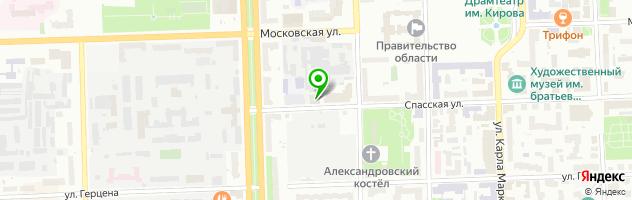 """Студия """"ЙогаВО"""" — схема проезда на карте"""