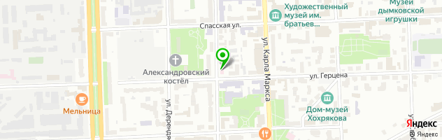 Кировская стоматологическая поликлиника — схема проезда на карте