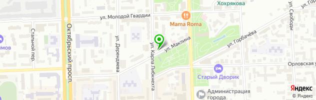 Компания Гипарт 2 — схема проезда на карте